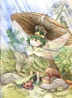 The Fairy Who Didn't Like Rain by asiapasek