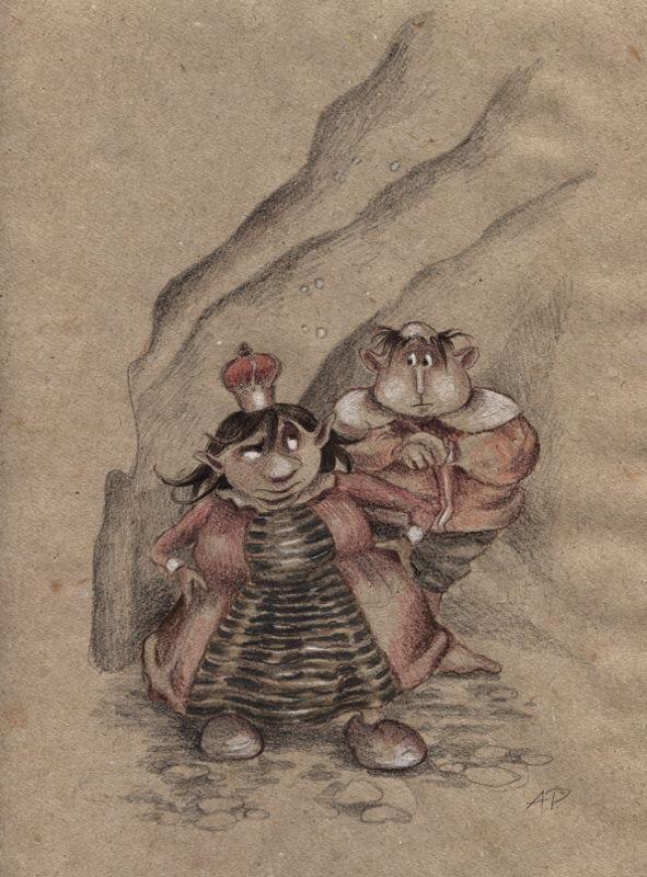 Goblin Royal Family by asiapasek
