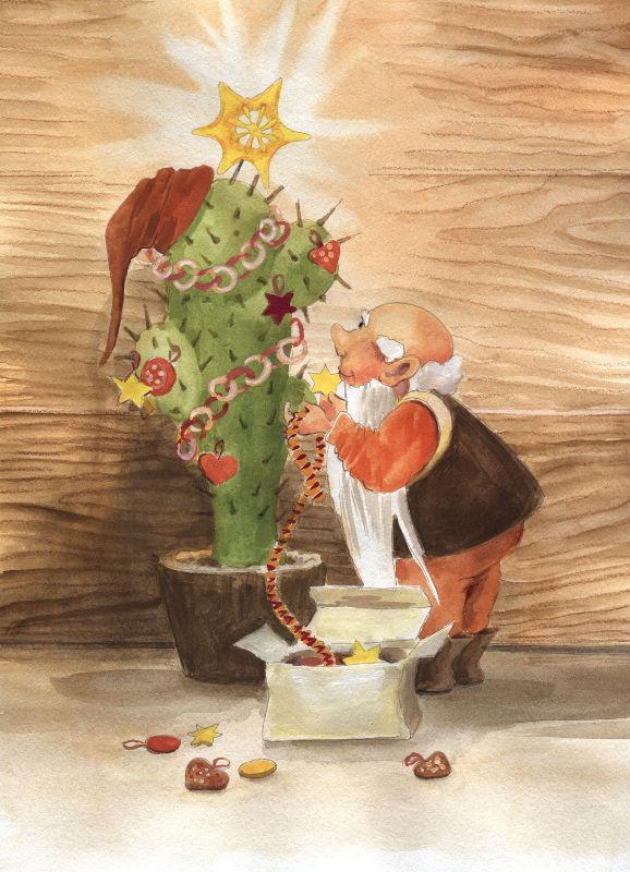 Dwarf Christmas Tree by asiapasek