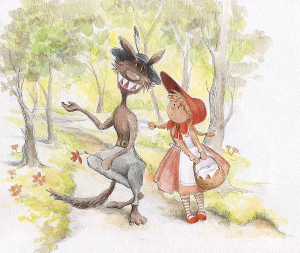 Red Riding Hood by asiapasek