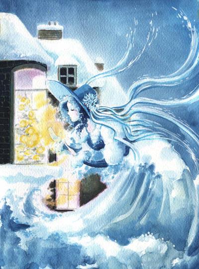 Snow Queen by asiapasek
