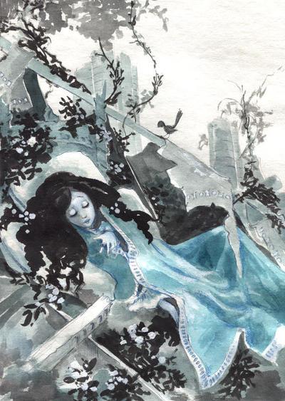 Blue Fairytale by asiapasek