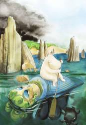 Moomins' Treasure Hunt by asiapasek