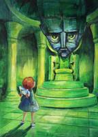 Great Wizard Of Oz by asiapasek