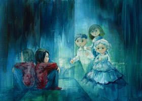 Children Behind the Mirror by asiapasek