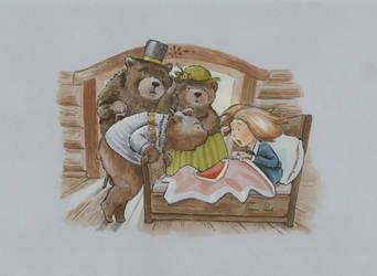 Goldilocks Wakes Up by joannapasek