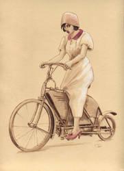 The Motorcyclist by asiapasek