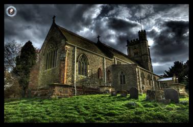 St Peter's Church - Church Lawford by MikeyMonkey