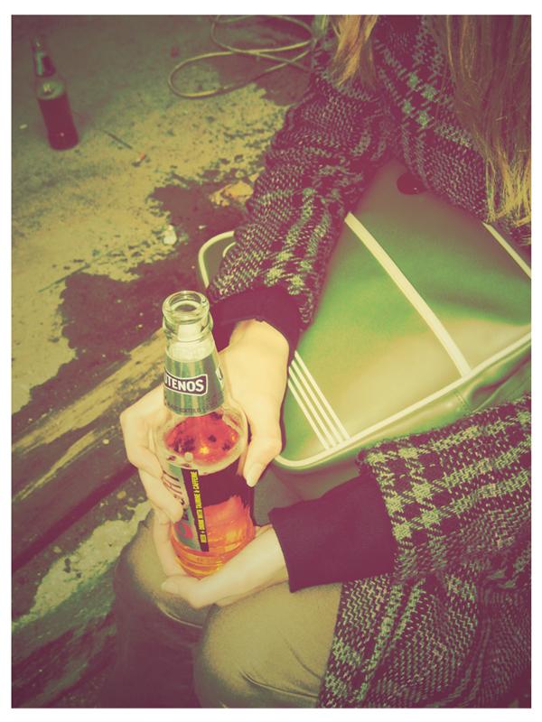 modern retro drink by funkiz69