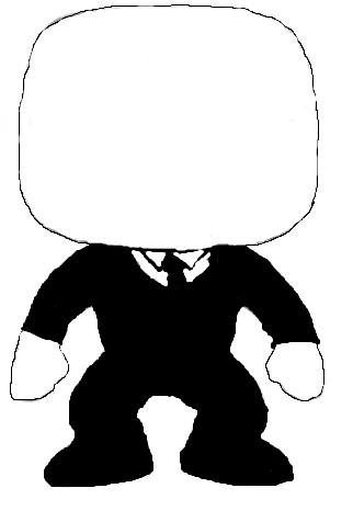 85bb6889d0b Slender Man Custom DIY POP Design by NinNon5142 on DeviantArt