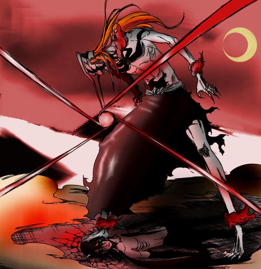 Bleach Ichigo Full Hollow By Mattwidder On DeviantArt