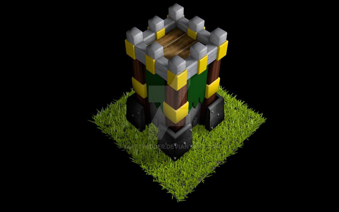 Archer Tower by mattwidder