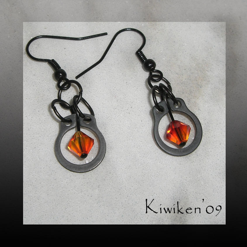 I Burn - Earrings