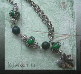Green Envy - Necklace