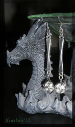 Sparkly Snowballs - Earrings