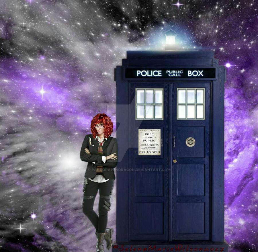 Time Lady and TARDIS  by PandoraPendragon