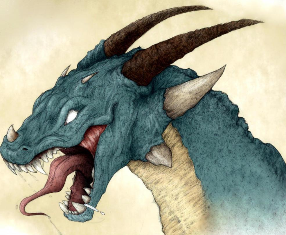 Blue Dragon by Friendermen