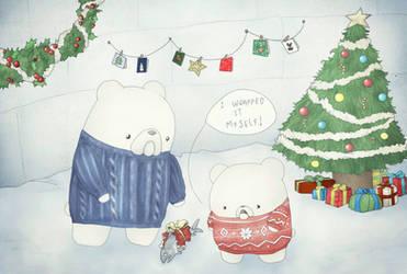 Christmas Card Design by Friendermen