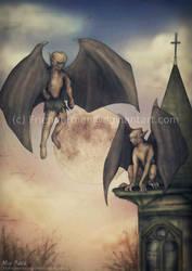 Gargoyles by Friendermen