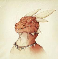 Tribal Dragon by Friendermen