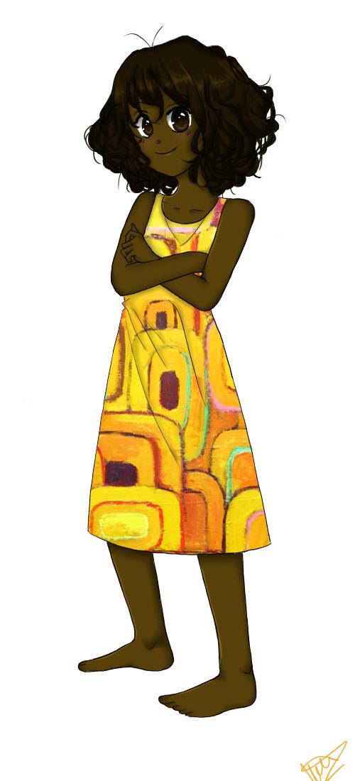 Olive-Skinned Girl by uncharteredstars