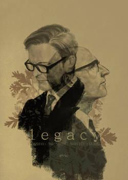 kingsman HM fanbook 'legacy' cover