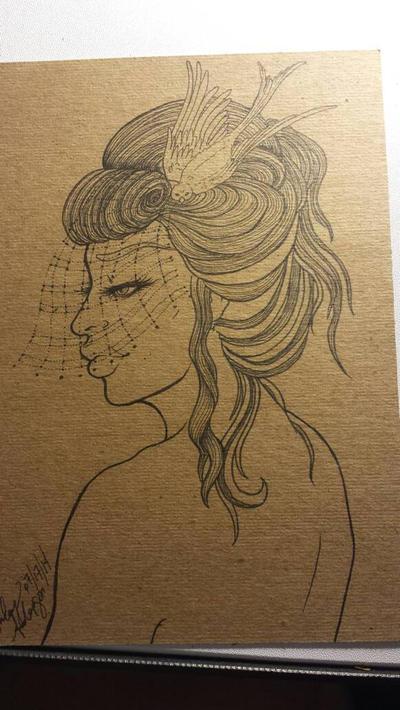inks in progress by Ashe-Ravi-Fox