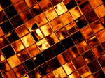 Wallpaper - Golden Tiles by Soninn