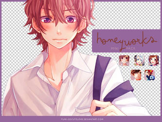 [MINI PACK] HoneyWorks - para watchers by Yumi-SoCuteLove