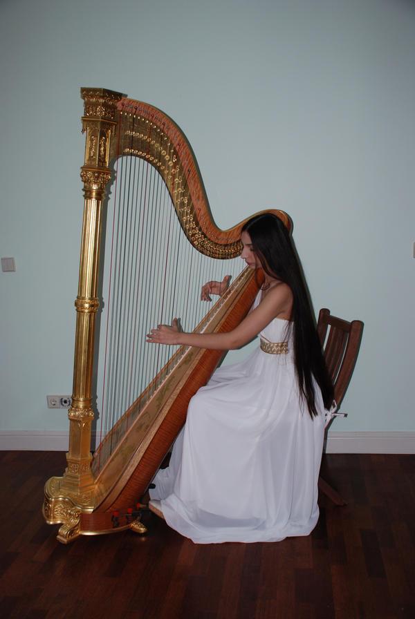 Harp stock 12 by Harpist-Stock