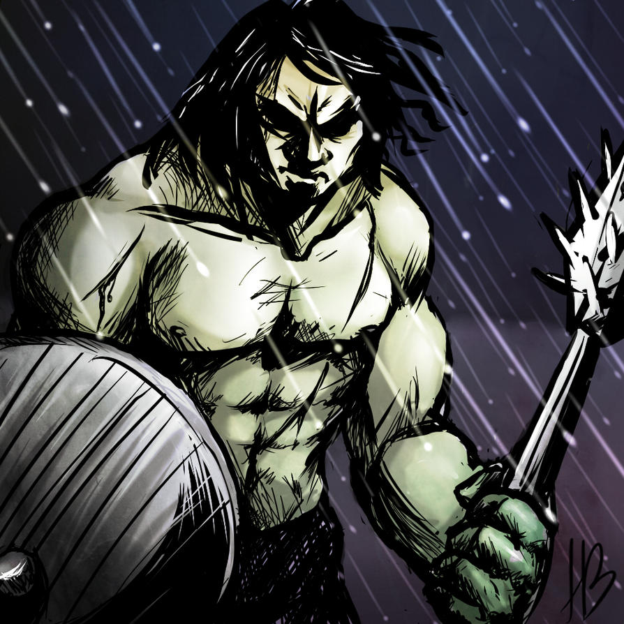 Warrior by M-Asami-the-szilf