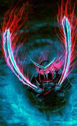 Undead samurai by Deftonys-muse
