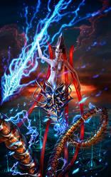 Mechanical Storm Spirit by Deftonys-muse