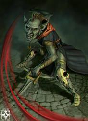 Goblin assassin by Deftonys-muse