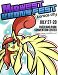 Midwest Brony Fest poster