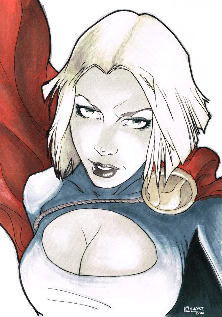 Power Girl by kevinenhart