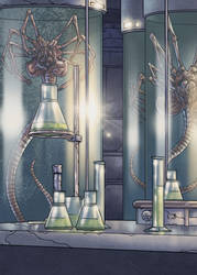 Alien : Med-Lab by kevinenhart