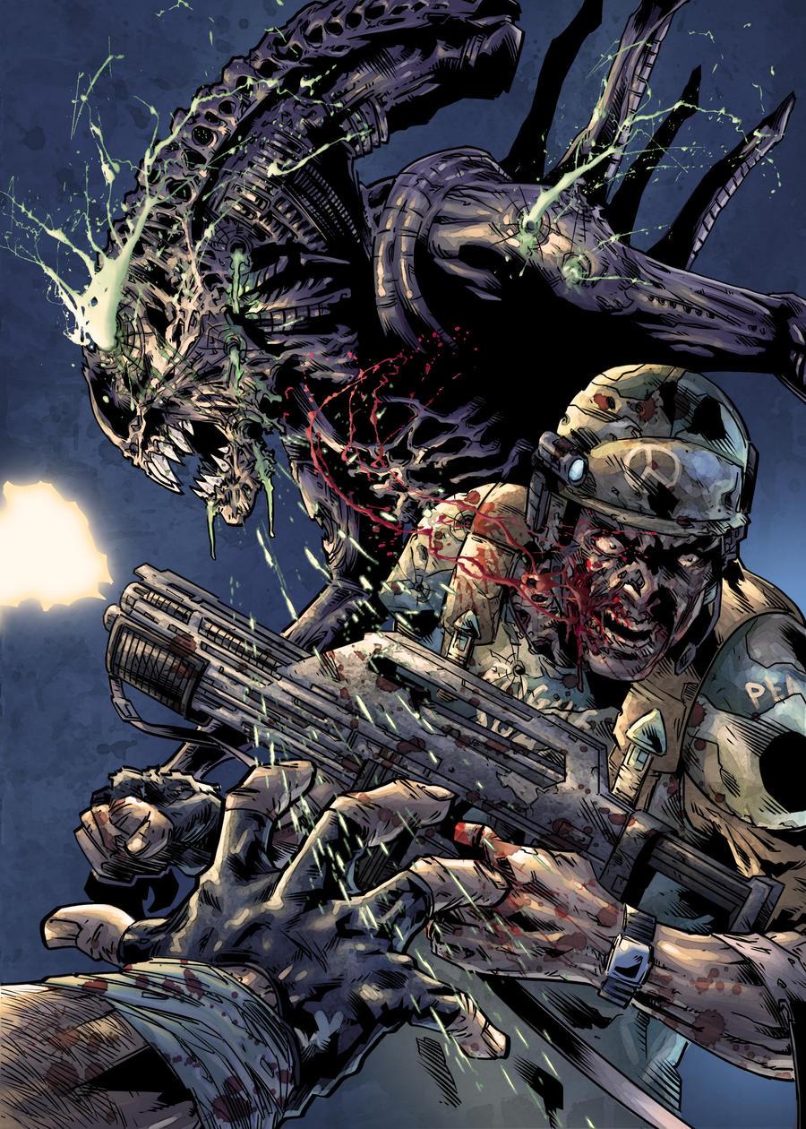 Alien : Acid Blood