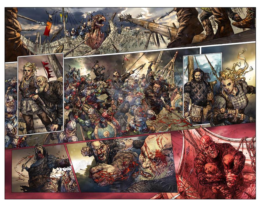 Vikings : Uprising #1 Page 2-3