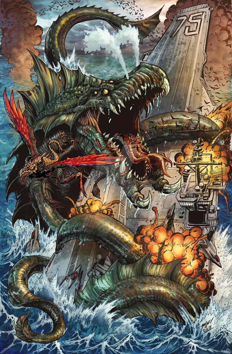 Kaiju Epic! Alt Cover