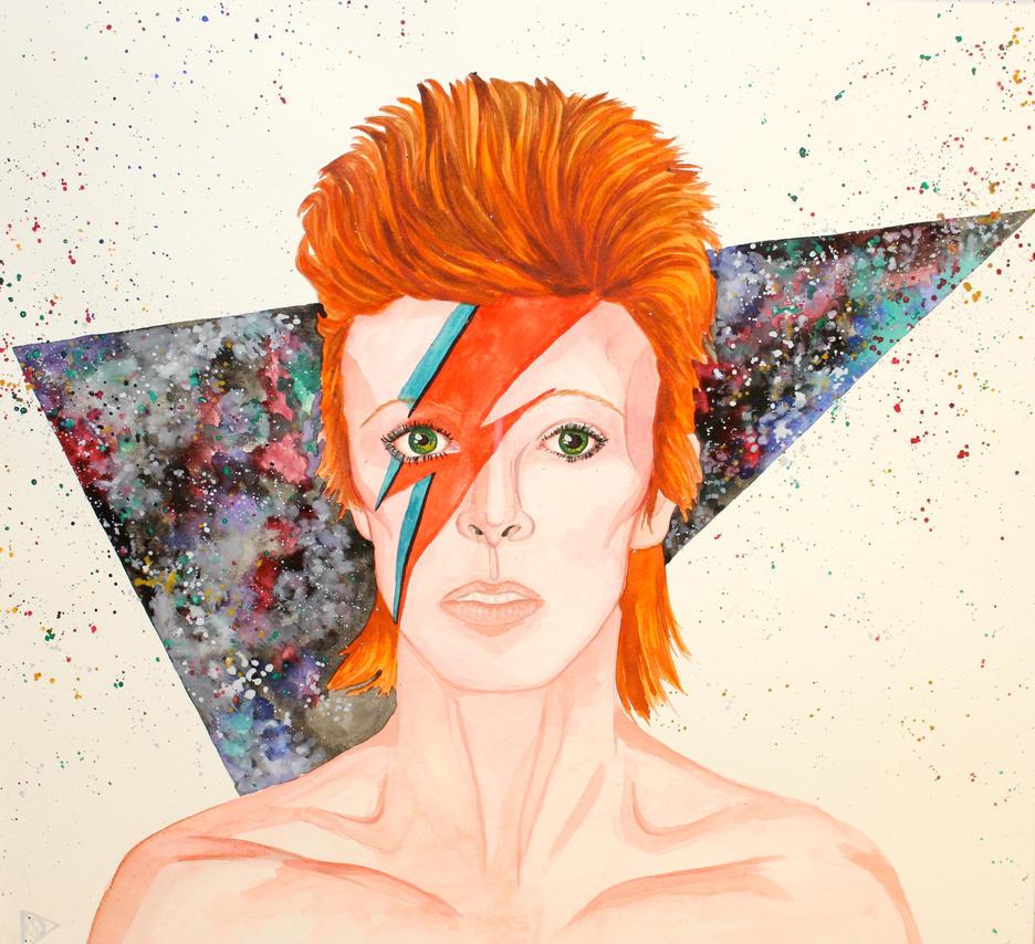 David bowie minimalistic by miniwallist on DeviantArt ...  David Bowie Ziggy Stardust Wallpaper