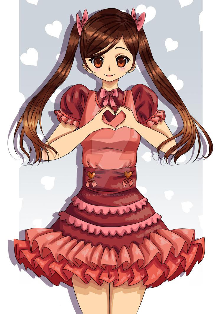 Happy Valentine S Day By Kay Ray Anime On Deviantart