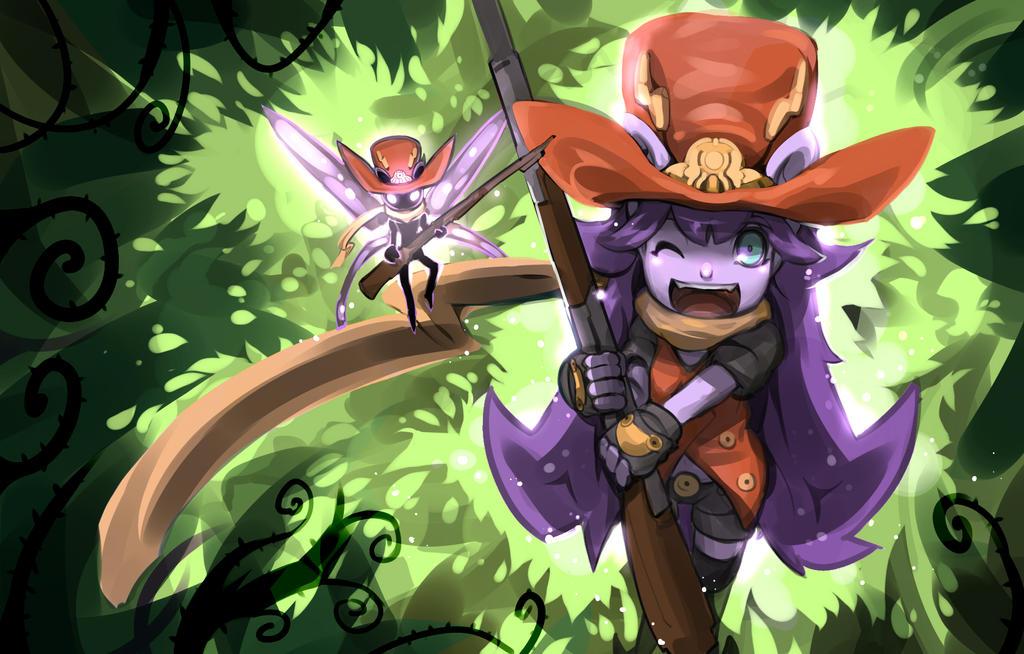 Magic bullet musket shooters Lulu by R-tari