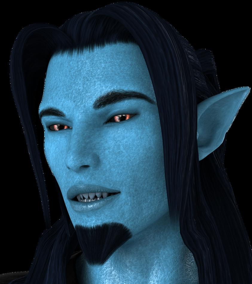 New Avatar by Blue-Skinned-Devil