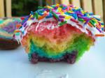 Rainbow Cupcake C: