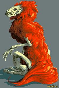 Fiery Skullhead by Raironu