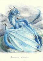 Blizzaragon - Ice Dragon by Raironu