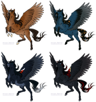 OPEN_Pegasus Adoptable (4/4) by LittleCloverGirl