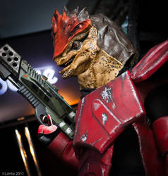 Wrex by commanderholly