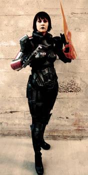 ME3 Renegade Female Shepard